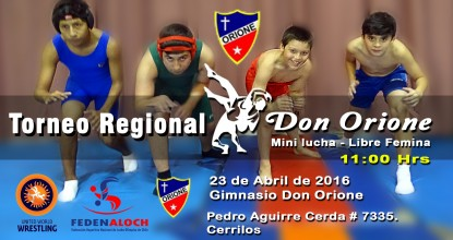 TORNEO REGIONAL DON ORION 2016