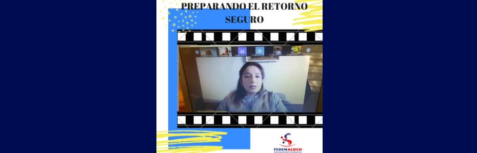 Conversatorio Dra. Daniela Cuadra: «Vuelta a la práctica de la lucha olímpica.»