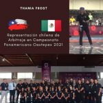 Representación Chilena de Arbitraje en Panamericano Oaxtepex 2021